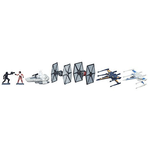 (Star Wars The Force Awakens Micro Machines Deluxe Vehicle Pack Galactic Showdown)