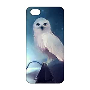 Fortune Harry potter white dove 3D Phone Case for iPhone 5s