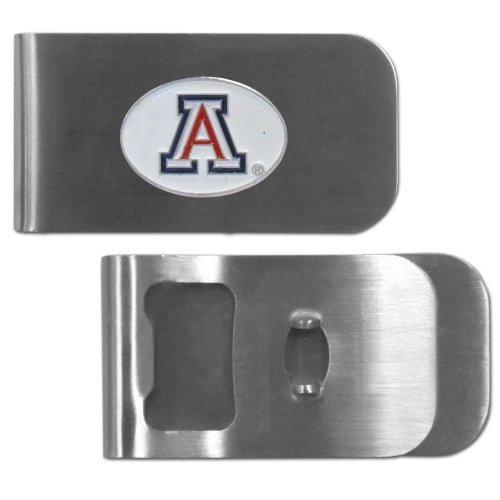 (Siskiyou NCAA Arizona Wildcats Bottle Opener Money Clip)
