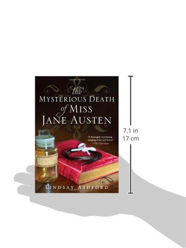 The Mysterious Death Of Miss Jane Austen Lindsay Ashford 9781402282126 Amazon Books