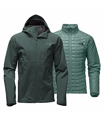 (The North Face Thermoball Triclimate Jacket Mens (X-Large, Darkest Spruce Heather))