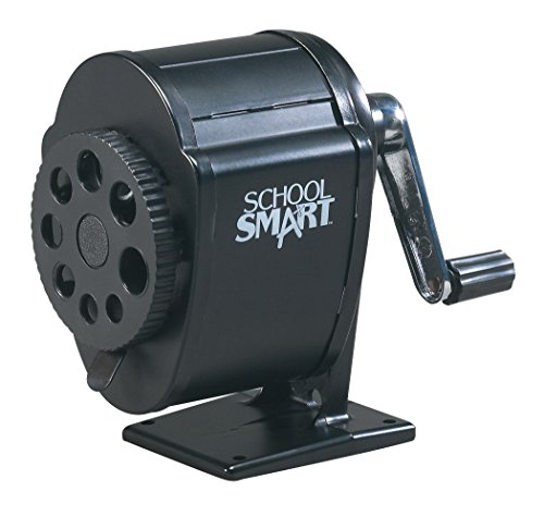 Top Mounted Sharpener (School Smart Multi-Hole Sharpener)