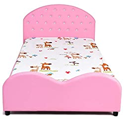 Kids Bed Upholstered Platform