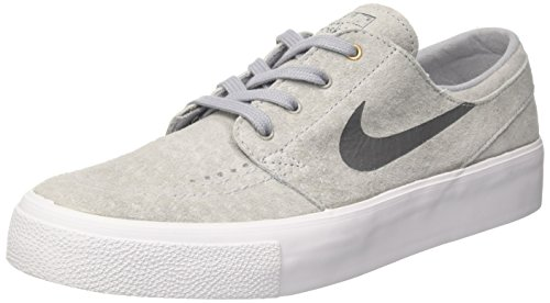 Nike Heren Sb Zoom Janoski Ht Skate Schoen Wolf Grijs / Donkergrijs