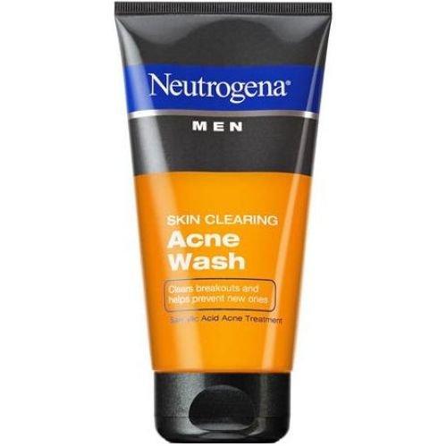 Neutrogena Men Skin Clearing Acne Wash, 5.1 Fluid Ounce -- 12 per case.