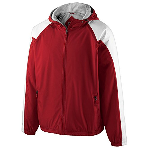 MEN'S HOMEFIELD JACKET Holloway Sportswear L Scarlet/White