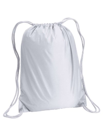 - Liberty Bags Boston Drawstring Backpack - WHITE - OS
