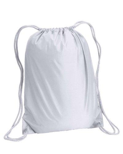Liberty Bags Boston Drawstring Backpack - WHITE - OS