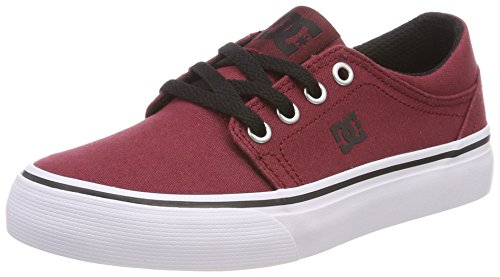 DC Shoes Jungen Trase TX Sneaker Rot (Dark Red Drk)