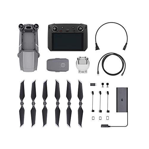 DJI Mavic 2 Pro (UK) Drone + Smart Remote Controller, Drone Combo Accessories, Bright Display 5.5 Inch, Aircraft, Iconic…