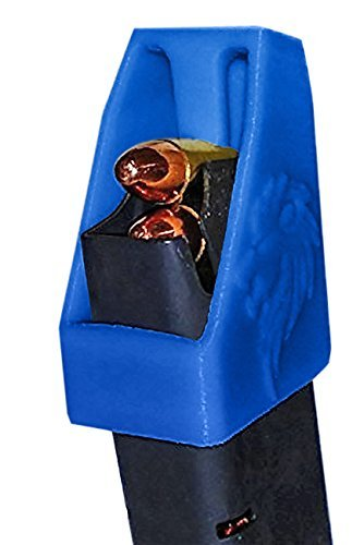 - DOUBLE STACK Magazine loader RAE-701 for many calibers of Pistol Magazines including 32 auto, 9mm Luger, 22TCM.357 SIG.380 ACP, 10mm Auto.40 S&W.45GAP .45 ACP MADE IN THE USA (Blue2)