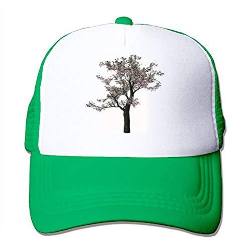 TZKDHCA Free Clipart Spring Tree Adjustable Printing£¬ Mesh Hat Unisex Adult Baseball. -