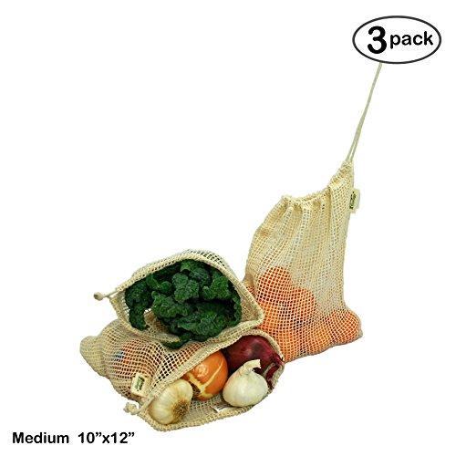 Cotton Net Produce Bags - 2