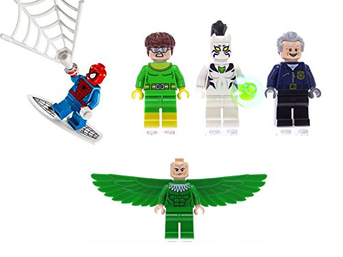 all lego marvel minifigures - 8
