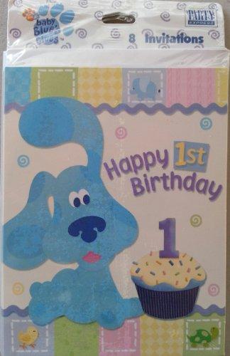 Blues Clues 1st Birthday Invitations 8 - Invitations Blues Clues