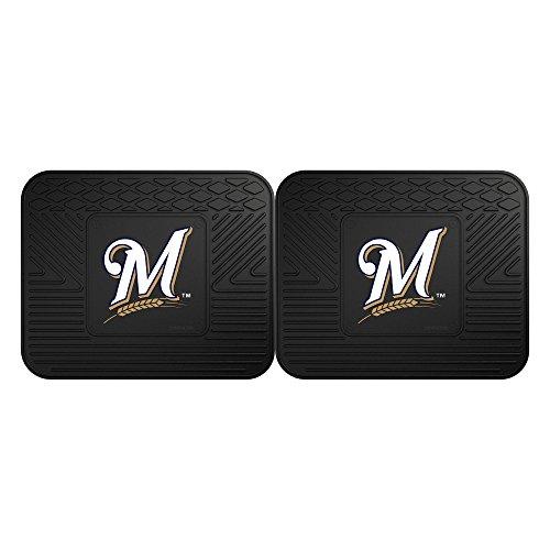 (FANMATS MLB Milwaukee Brewers Vinyl 2-Pack Utility)
