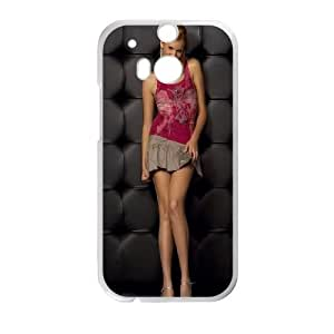 HTC One M8 Cell Phone Case White Maggie Grace 2 SP4090272