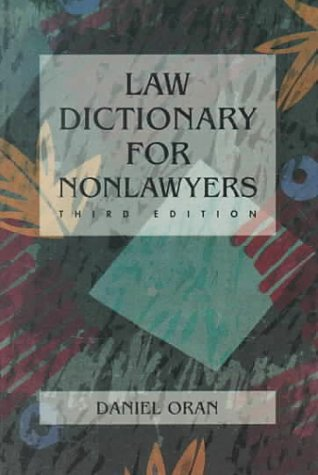 Law Dictionary for Non-Lawyers
