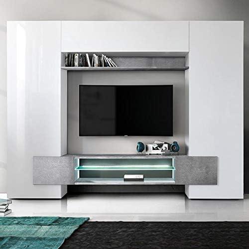 Kasalinea Eros - Mueble para televisor de Pared con Efecto de ...