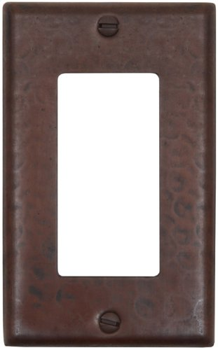 LSC100 Hammermarc Single Switch Cover-Decora Flat Switch with Screws by Hammermarc