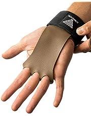 GORNATION® 2-in-1 Pull-Up Grips en polsverband voor ideale hand- en gewrichtsbescherming - Handgrepen, handschoenen voor calisthenics, gymnastiek, krachttraining, bodybuilding