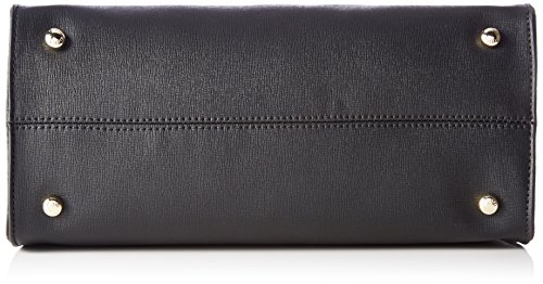 Tommy Hilfiger Modern Satchel - Borse a secchiello Donna, Schwarz (Black), 14x25x30 cm (B x H T)