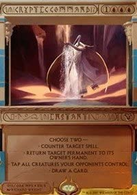 Forbid MTG Magic the Gathering Masterpiece: Invocations Foil