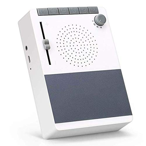Aipker White Noise Machime for Sleeping, Adjustable Sound Th