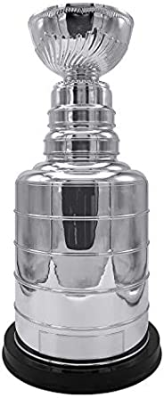 NHL 14-inch Stanley Cup Champions Trophy Replica for Dad - Best Gifts for Men, Hockey Fans, Players, Coaches &