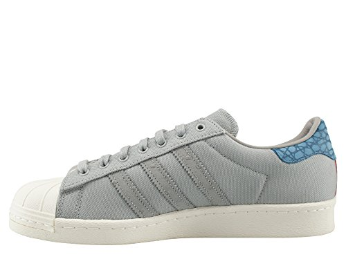 adidas Originals Superstar 80 Animal Oddity Sneaker grigio S75005, Herren - Schuhe - Turnschuhe & Sneaker / 15709:44