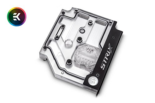Nickel Monoblock - EKWB EK-FB ASUS Strix X470 RGB Monoblock, Nickel