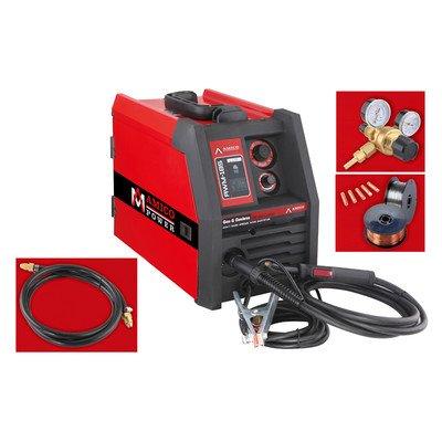 Amico AWM-185170 Amp welding output range Power MIG 230V/170Amp Welding Machine, Red