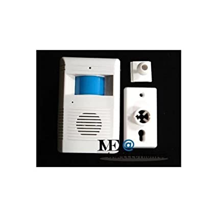 Motion Sensor Wireless Entry Alarm With Door Bell Chime Motion