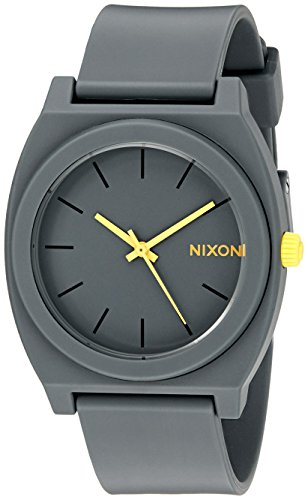 nixon-womens-a1191244-time-teller-p-analog-display-japanese-quartz-grey-watch