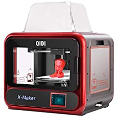 Product Description:  X-maker is a new single extruder 3d printer with many cutting-edge technology features and is applicable to families, schools, 3d printing fans, and businesses. Key Features:1.Pull rod filament spool holder suitable for ...