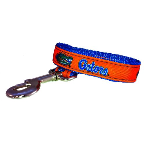 All Star Dogs NCAA Florida Gators Dog Leash, Team Color, Small by All Star Dogs