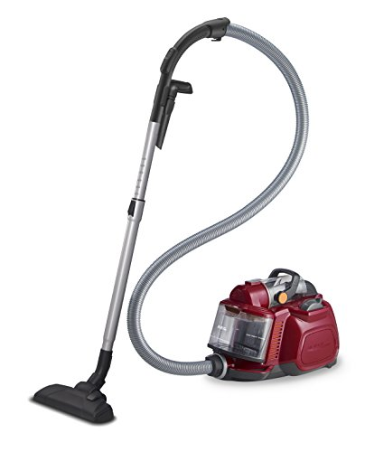 AEG ASPC7120 SilentPerformer Cyclonic All Floor Bagless Cylinder Vacuum Cleaner, 800 W - Watermelon Red