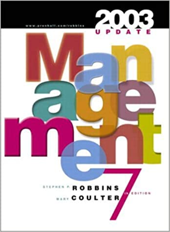 Book Management: 2003 Update (International Edition)