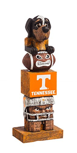 (Evergreen NCAA Tennessee Volunteers Tiki Totem)