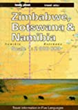 Lonely Planet Zimbabwe, Botswana And Namibia Travel At...