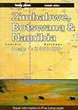 Zimbabwe, Botswana and Namibia: Travel Atlas (Lonely Planet Travel Atlas)