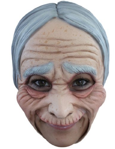 OLD LADY ADT CHINLESS ADT MASK]()