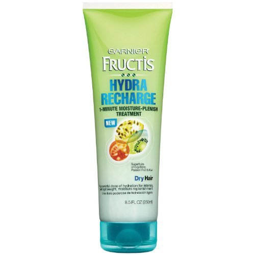 Garnier Fructis Hydra Recharge 1 Minute Moisture-Plenish Treatment For Normal To Dry Hair, 8.5 Fluid Ounce (Pack of 3) Review