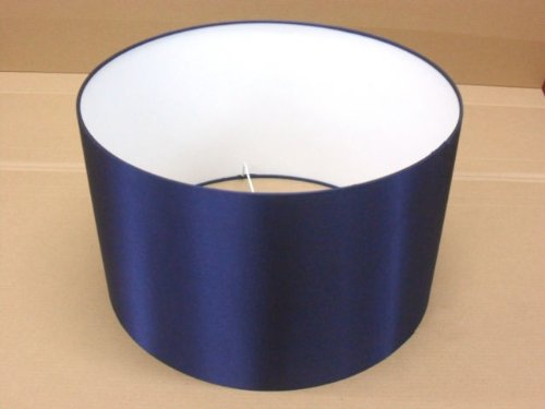 Hand made 10 navy blue satin lampshade amazon lighting hand made 10quot navy blue satin lampshade aloadofball Image collections