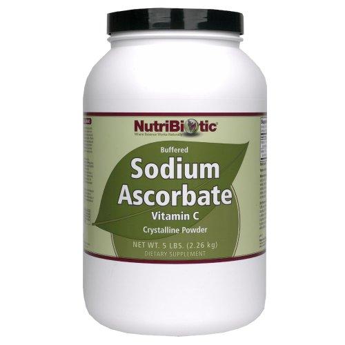 NutriBiotic Sodium Ascorbate poudre, 5 livres