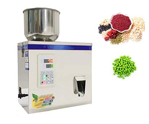 KUNHEWUHUA 200g Powder Filler Machine Auto Pellet Particle Weighing Dispenser Machine Subpackage Quantitative Filling Machine with Vibrator for Rice/Bean/Grain/Seeds/Pet Food/Fertilizer 115v