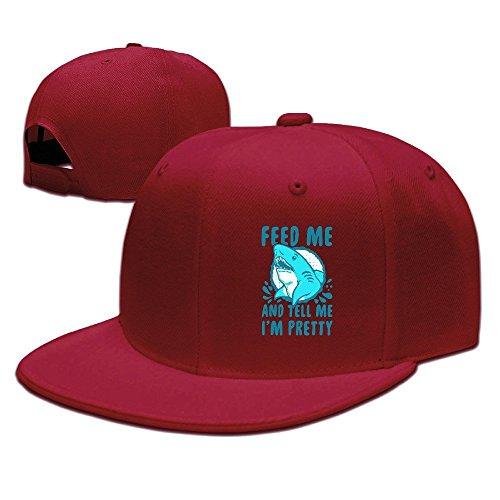 Runy Custom Feed Me And Tell Me I Am Pretty Adjustable Baseball Hat & Cap - Apparel American Eyeglasses