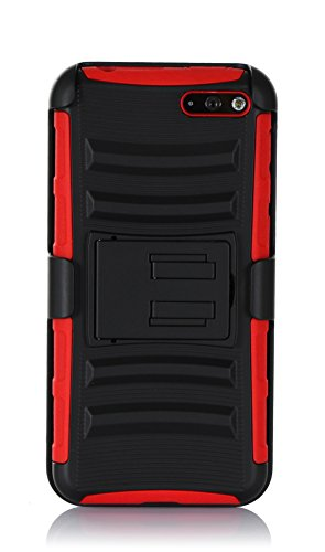 Amazon Fire Phone Case, FYY® Detachable Rotating Dual Layer Holster Case with Kickstand and Locking Belt Swivel Clip for Amazon Fire Phone