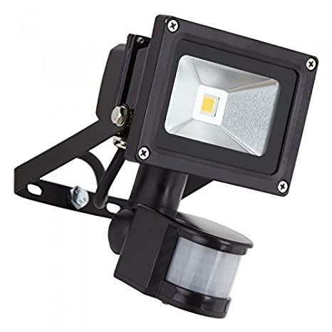 10 W LED Sensor de movimiento PIR lámpara de pared foco resistente al agua IP65 de
