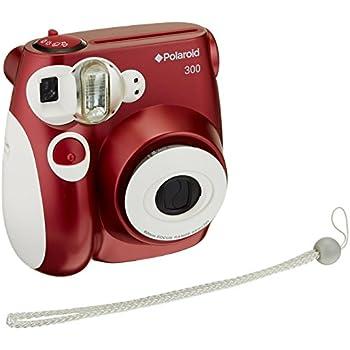 Amazon.com : Polaroid PIC-300 Instant Film Camera (Red) : Instant ...